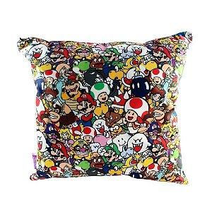 Zonacriativa Almofada 40x40 Pattern Super Mario - 10063801