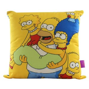 Zonacriativa Almofada 40x40 Familia Os Simpsons - 10063286