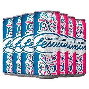 Refrigerante Guarana Jesus Fardo com 6 Latas de 310 mL Cada