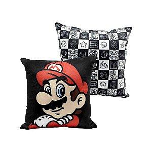 Zonacriativa Almofada 25x25 Super Mario Mario - 10064012