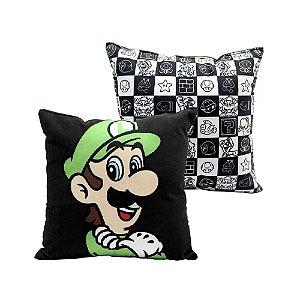 Zonacriativa Almofada 25x25 Super Mario Mario - 10064000
