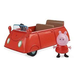Veiculo e Mini Figura Peppa Pig Carro de Passeio Sunny 2307