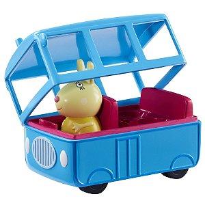 Veiculo e Mini Figura Peppa Pig Onibus Escolar da Sunny 2307