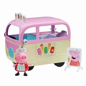 Veiculo e Mini Figura Peppa Pig Carro de Sorvete Sunny 2307