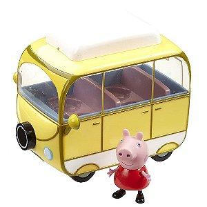 Veiculo e Mini Figura Peppa Pig Van de Acampar da Sunny 2307