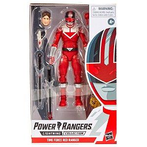 Power Rangers Lightning Time Force Red Ranger Hasbro E5906