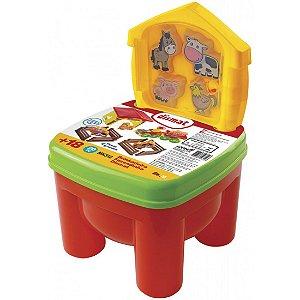 Brinquedo Cadeirinha Brinkadeira Fazendinha Dismat Mk312
