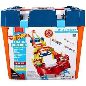 Hot Wheels Pista Track Builder Mega Caixa Boost Box Gnj01