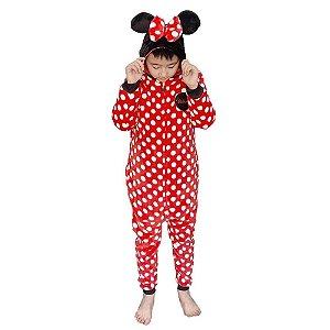 Zona criativa - Macacão Disney Minnie Mouse - 10071139