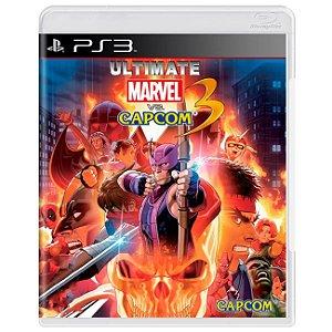 Jogo Novo Midia Fisica Ultimate Marvel VS Capcom 3 para Ps3