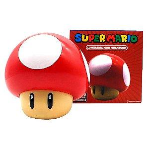 Zona Criativa Luminária Super Mario Mini Mushroom - 10082378