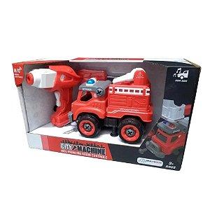 Multikids - City Machine - RC Caminhão de bombeiros - BR1085