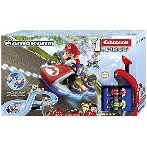 Pista Eletrica Nintendo Mario Kart 1/50 Carrera Car20063026