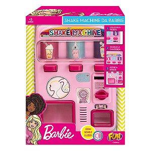 Brinquedo Barbie Maquina de Shake com Som e Luz Fun F00006