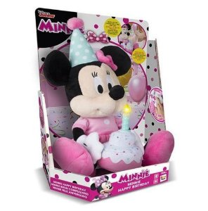 IMC Toys - Brinquedo Musical Minnie Happy Birthday - BR374