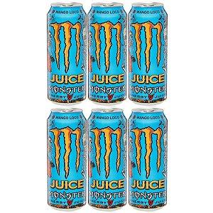Energetico Monster Energy Mango Loco de 473mL Caixa com 6
