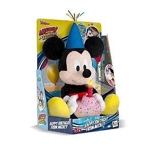 IMC Toys - Brinquedo Musical Mickey Happy Birthday - BR375