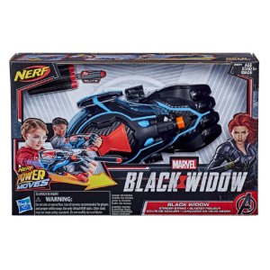 Lançador Nerf Power Moves Marvel Viuva Negra da Hasbro E8674