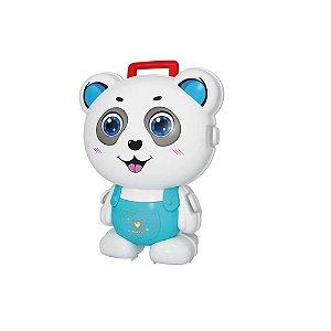 Dican - Maleta com Formato de Bichinho - Panda Doutor - 2176