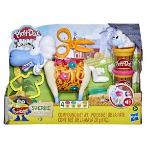 Massinha Play Doh Farm Sheep Fazenda de Ovelhas Hasbro E7773