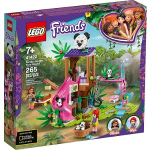 Lego Friends Playset Casa do Panda na Arvore da Selva 41422