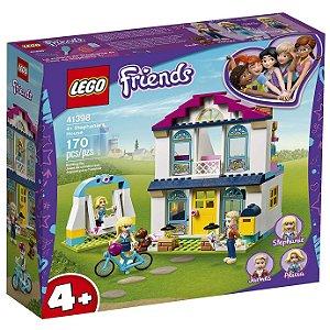 Lego Friends Playset A Casa da Stephanie com 170 Peças 41398