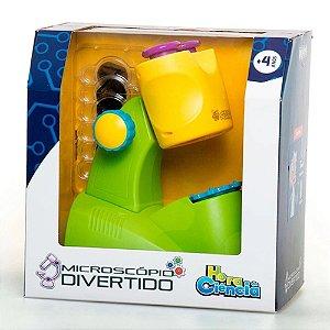 Dican Microscópio Divertido Hora da Ciência Infantil - 5026