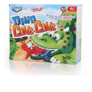 Brinquedo Dican Dino Come Come Colorido e Divertido 5066