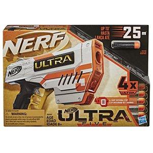 Lançador de Dardos Nerf Ultra Five com 4 Dardos Hasbro E9593