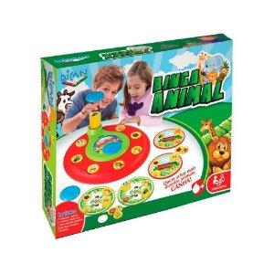 Dican Bingo Animal Divertido Colorido 2 a 6 Jogadores 5069