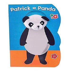 Livro Infantil Patrick o Panda com Rosto de Pelúcia 3804
