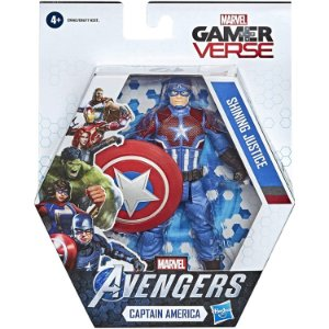 Figura Marvel Avengers GamerVerse The Captain America E9865