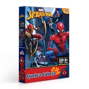 Quebra Cabeça 150 Peças Homem Aranha Toyster Novo 8014