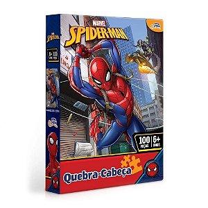 Quebra Cabeça 100 Peças Homem Aranha Toyster Novo 8013