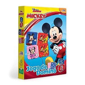 Novo Papel Jogo de Dominó da Turma do Mickey da Disney 8003