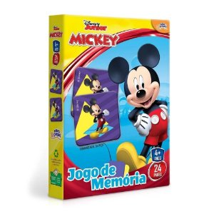 Novo Papel Jogo de Memória da Turma do Mickey da Disney 8004