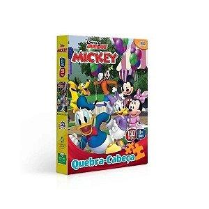 Novo Papel Quebra Cabeças da Turma do Mickey 150 peças 8002