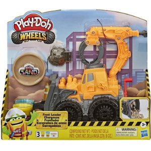Massinha Play Doh Wheels Veiculo Escavadeira da Hasbro E9226