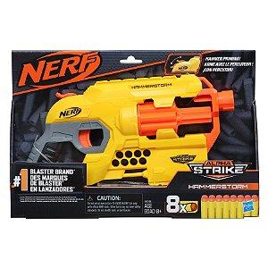 Lançador de Dardo Nerf Alpha Strike Hammerstorm Hasbro E8676