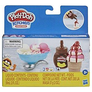 Massinha Play Doh Drizzle Sorvete com Calda da Hasbro F0654