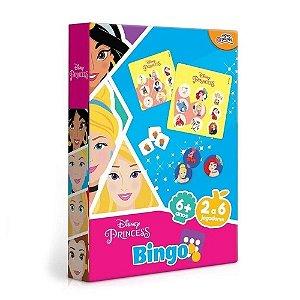 Novo Papel Jogo Bingo Das Princesas da Disney Colorido 8011