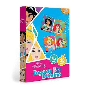 Novo Papel Jogo de Dominó das Princesas da Disney 8009