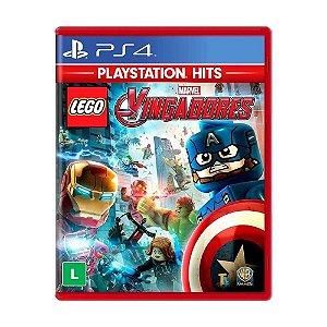 Jogo Midia Fisica PS4 Lego Marvel Vingadores Lacrado Hits