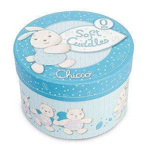 Caixa de Música Chicco Soft Cuddles Azul de Pelúcia 1921