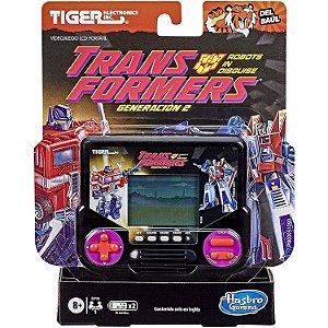 Jogo Eletronico Mini Videogame Transformers da Hasbro E9728