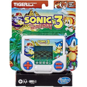 Jogo Eletronico Mini Videogame Tiger Sonic 3 da Hasbro E9730
