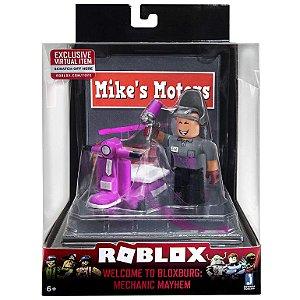 Figura Roblox Playset Welcome Bloxburg Mechanic Mayhem 2223