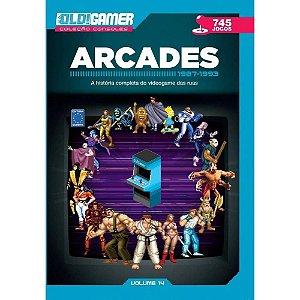 Livro Dossiê Old Gamer Arcades 1987 Até 1993 Volume 14