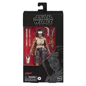 Figura Star Wars The Black Series Jannah e Acessorios E4071