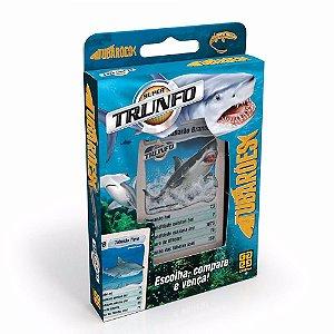 Novo Jogo De Cartas Da Grow Super Trunfo Tubarões